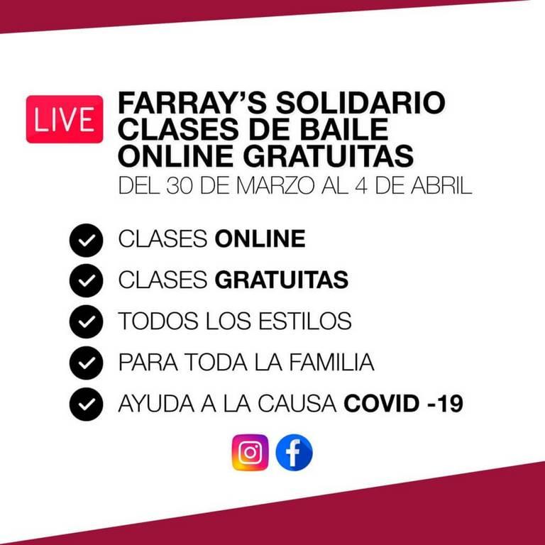 Clases de Baile Online Farray's
