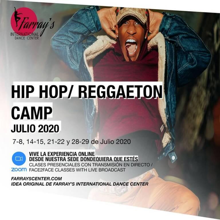 Intensivos Hip Hop Reggaeton Camp