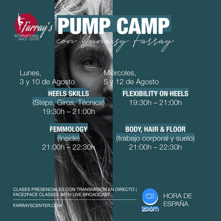 Horario PumP Camp 2020