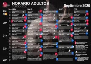 Horarios Septiembre 2020